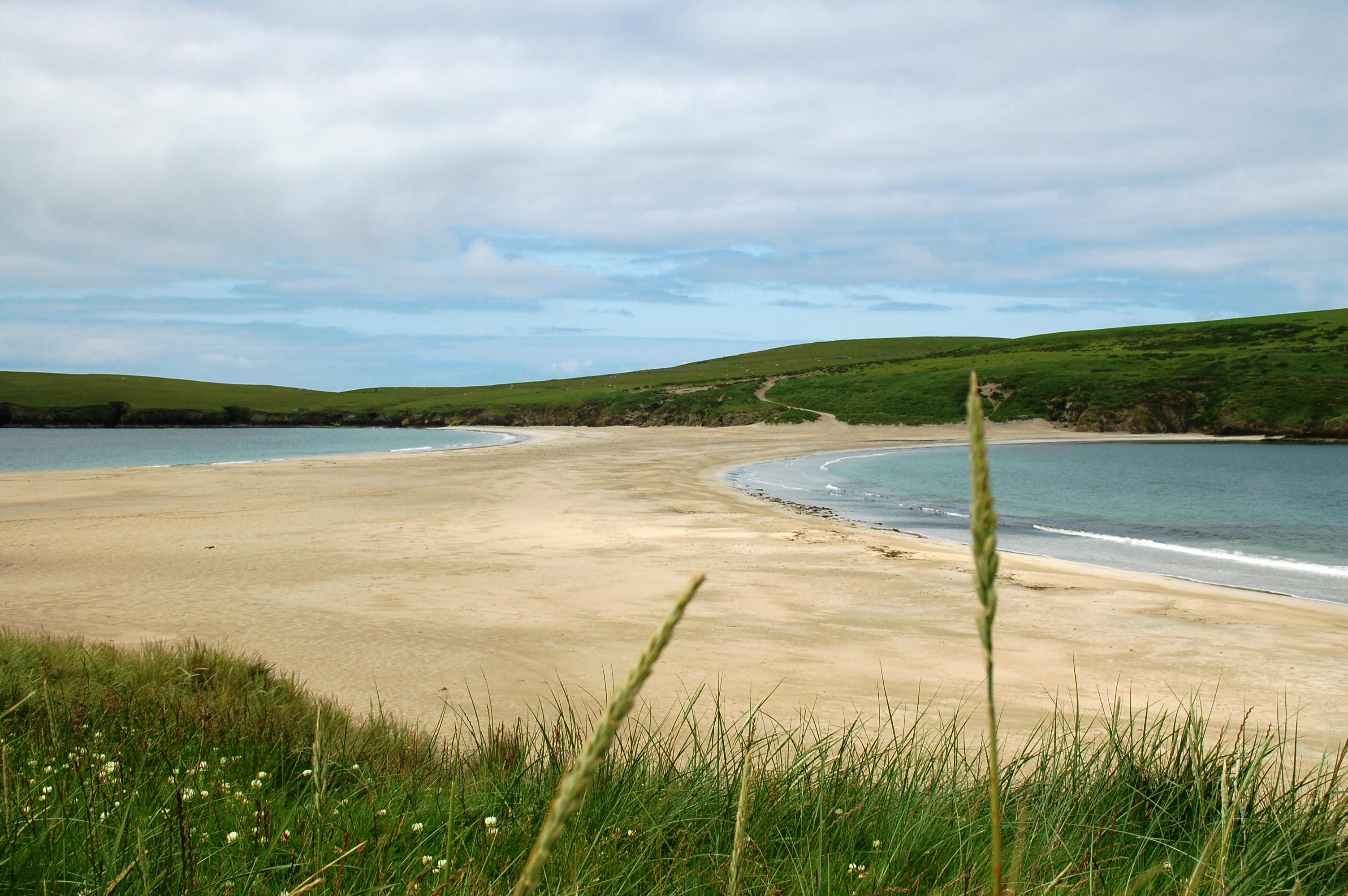 Beach St Ninian's Isle Bigton